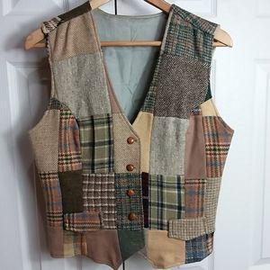 Vintage Patchworks LTD Vest